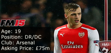 FM 2015 Player Profile of Calum Chambers