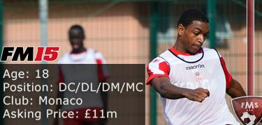 FM 2015 player profile of Abdou Diallo