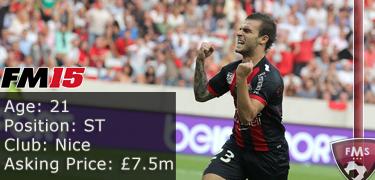 FM 2015 player profile of Alexy Bosetti