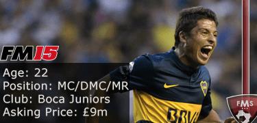 FM 2015 profile, Marcelo Meli image