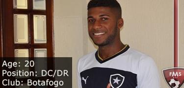FM 2016 player profile of emerson