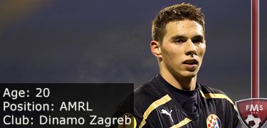FM 2016 player profile of marko pjaca