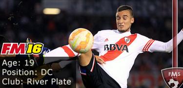 FM16 player profile, Emanuel Mammana, image
