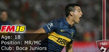 FM16 player profile, Rodrigo Bentancur1, image