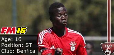 FM16 player profile, Ze Gomes, image