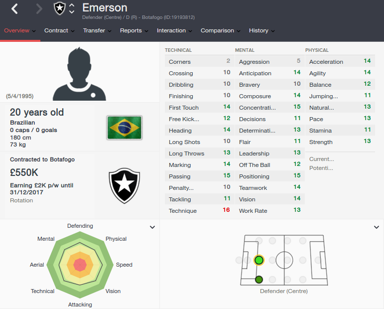 emerson patch 16.3