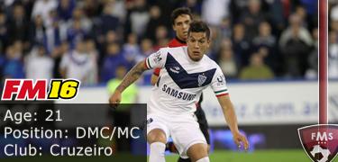 FM16 player profile, Lucas Romero2, image