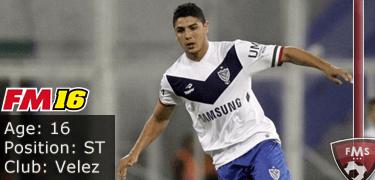 FM16 player profile, Maximiliano Romero, image
