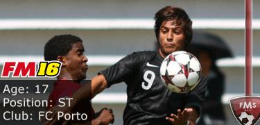 FM16 player profile, Rui Pedro, image