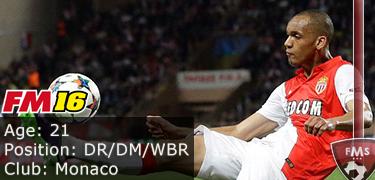 FM 2016 Player Profile of Fabinho