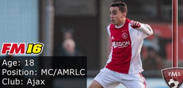 FM16 player profile, Abdelhak Nouri, image