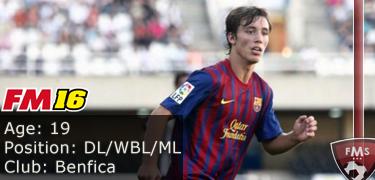 FM16 player profile, Alex Grimaldo2, image