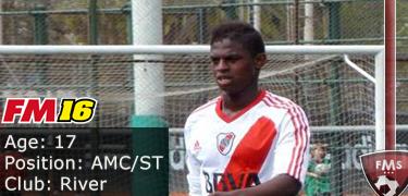 FM 2016 Player Profile of Abel Casquete