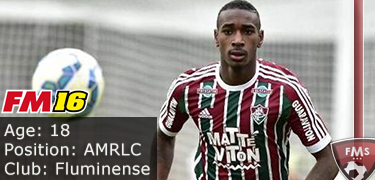 FM 2016 Player Profile of Gerson