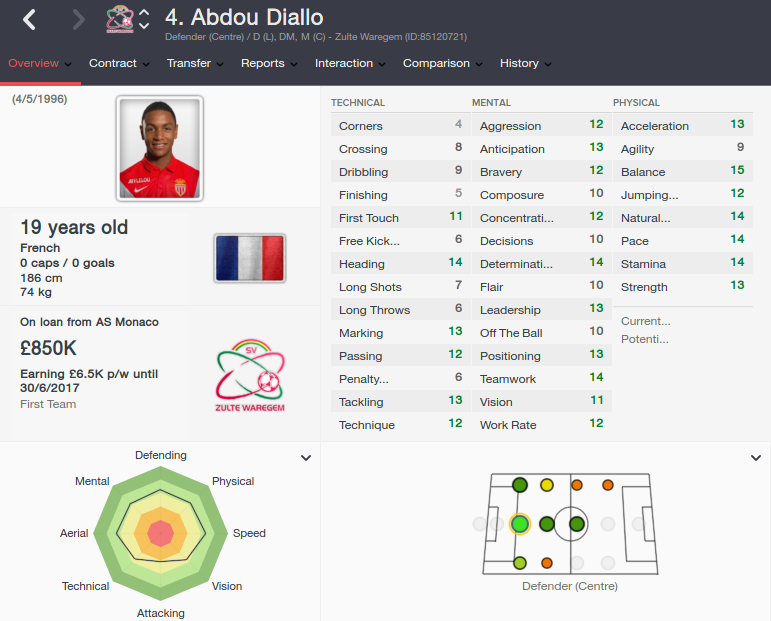 abdou diallo patch 16.3