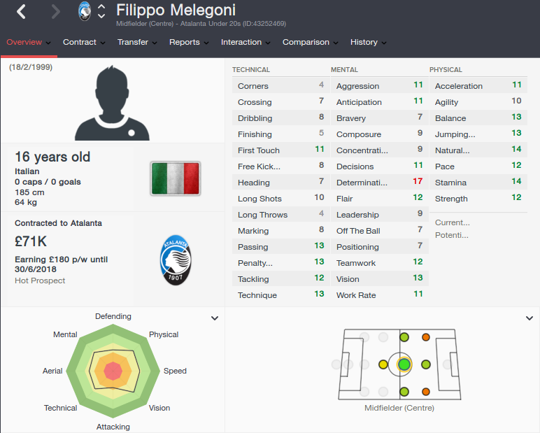 filippo melegoni patch 16.3