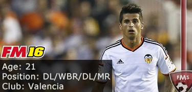 FM 2016 Player Profile of Joao Cancelo
