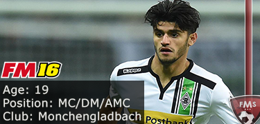 FM 2016 Player Profile of Mahmoud Dahoud