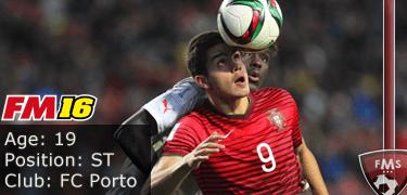 FM16 player profile, Andre Silva, image