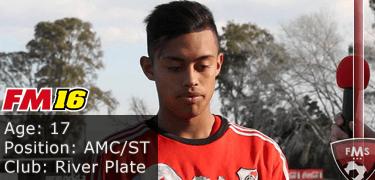 FM16 player profile, Franco Lopez, image