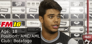 FM16 player profile, Leandrinho, image
