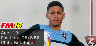 FM16 player profile, Diego, image