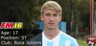 FM16 player profile, Matias Roskopf, image