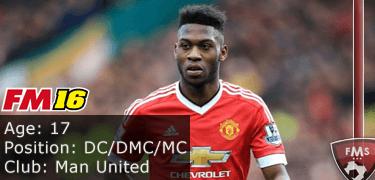 FM16 player profile, Timothy Fosu-Mensah, image
