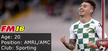 FM 2016 Player Profile of Iuri Medeiros