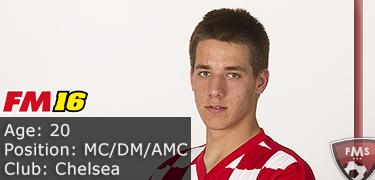 FM 2016 Player Profile of Mario Pasalic