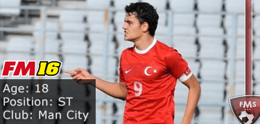 FM16 player profile, Enes Unal, image
