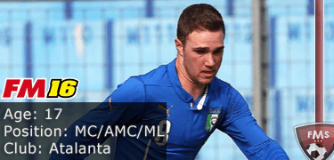 FM16 player profile, Fabio Castellano, image