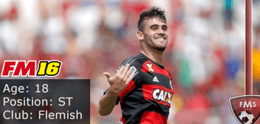 FM16 player profile, Felipe Vizeu, image