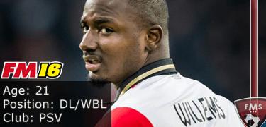 FM16 player profile, Jetro Willems, image